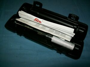 New Snap on 3 8 Drive Compact 200 In Lb Torque Wrench Qd2r200 N Case Sept 2020