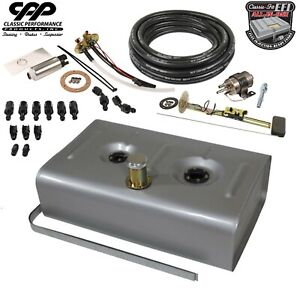 Cpp Ls Efi Fuel Injection Universal Gas Tank Fi Conversion Kit 90 Ohm Hot Rod