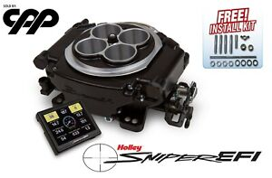 Holley Super Sniper Self Tuning Efi Fuel Injection Conversion Kit 650hp 550 519