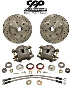 1960 70 Chevy C10 Front Truck Disc Brake Conversion Wheel Component Kit 6 Lug