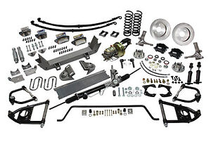 47 54 Chevy 1 2 Ton Truck Ultimate Performance Package Mustang Ii Ifs Suspension