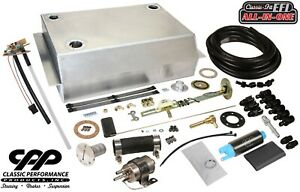 1967 72 Chevy C10 Gmc Fuel Injection Efi Aluminum Gas Tank Kit Bed Fill 90ohm
