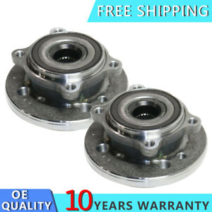Pair Front Wheel Bearing And Hub Assembly For 2007 2008 2009 15 Mini Cooper New