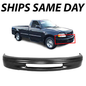 New Primered Steel Front Bumper Face Bar For 1997 1998 Ford F 150 Pickup 97 98