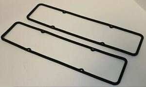 Sbc Steel Core Rubber Valve Cover Gaskets Fits Sb Chevy 283 305 327 350 383 400