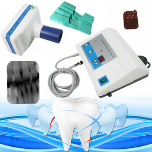 Dental X Ray Mobile Film Imaging Machine Blx 5 Digital Low Dose Blue Tube Kit