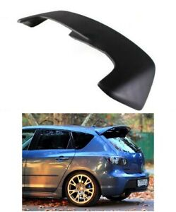 Mazdaspeed Rear Spoiler For Mazda 3 Bk 03 08 Mps Style Ducktail Body Kit Tuning