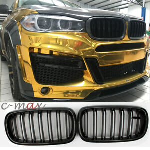 Carbon Fiber Grill Front Kidney Grille For Bmw X5 F15 X5m Bumper Mesh 2014 2018