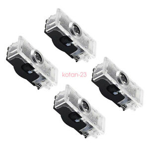 4x Led Shadow Light Projector Car Door Courtesy Laser For Benz Cla C117 2013 18