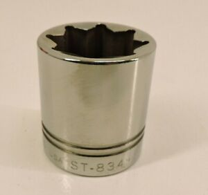 Williams St 834 1 2 Drive 8 point 1 1 16 Sae Shallow Socket New