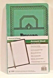 Boorum Pease 66 Series Account Book Record 150 Pages 66 150 r 66150r New
