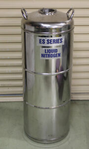 Wessington Cryogenics Es Series Es50 Ss Liquid Nitrogen Storage Dewar