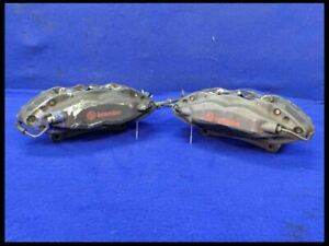 2011 2014 Ford Mustang Gt 4 Piston Brembo Front Brake Caliper Set Pair W Lines