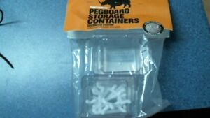 Functionaire Pegboard Storage Containers Free Shipping