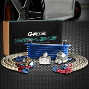 Universal 7 Row Transmission Engine An 10an Oil Cooler Filter Relocation Kit