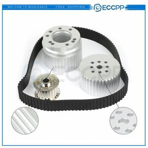 Belt Drive Pulley Kit For Big Block Chevy 396 427 454 2253 New