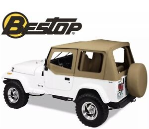 51120 37 Bestop Spice Replace a top For Jeep Wrangler Yj 1988 1995