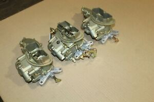 69 Corvette 3659 4055 Tri Power Holley Carburetors 427 435 400 Dated 862 951 951
