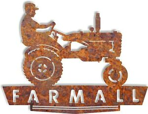 Dxf Cnc Plasma Laser Cut Ready Vector Tractor Farmall Country Living