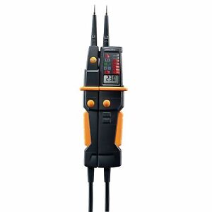 Testo 750 3 Digital Voltage Continuity Phase Sequence Tester 0590 7503kd