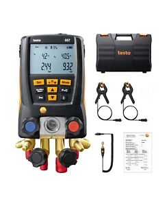 Testo 557 Digital Manifold Kit With Bluetooth Enabled 0563 1557 kd