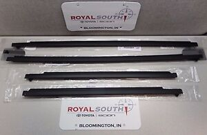 Toyota 4runner 96 02 Door Belt Molding Kit Set Weatherstrip 5 Pc Genuine Oem