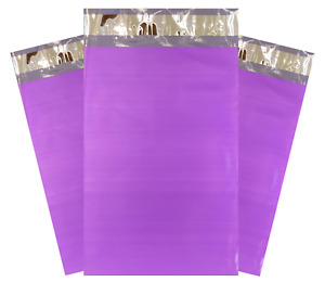 Purple Poly Mailers Choose Size Quantity Small Or Large Thick 2 35 Mil