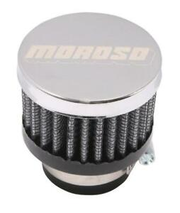 Moroso 68791 Clamp On Filter Breather 1in Id