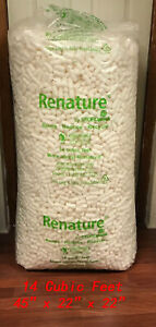 White Anti Static Packing Peanuts 14 Cubic Feet local Pickup Only quincy Ma