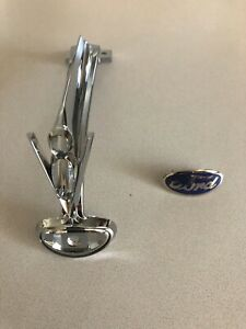1935 Ford Hood Ornament With Emblem