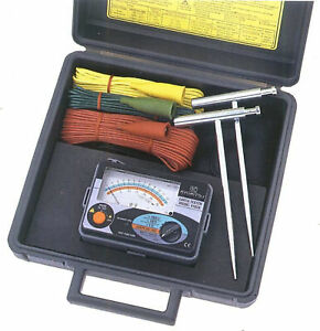 Kyoritsu 4102a Earth Testers With A Suitcase New kd