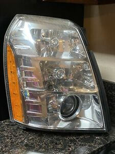 2007 2014 Cadillac Escalade Right Passenger Oem Xenon Hid Headlight Lamp