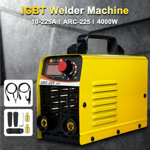 225amp 110v Mini Electric Welding Machine Dc Inverter Igbt Arc Mma Stick Welder