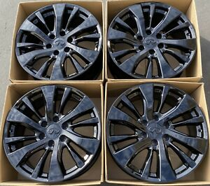 20 Infiniti Qx80 Factory Oem Wheels Rims Gloss Black Nissan Titan Armada 73769