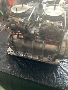 671 Gmc Blower Supercharger Bb Chevy Compleat With Carbs Nice Gasser Weiand