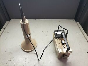 Ludlum Model 3 Survey Geiger Counter With 43 1 Radiation Detector Probe