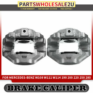 2x Front Left Righ Brake Caliper For Mercedes Benz W110 W111 W114 190c 200 250