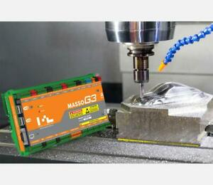 Masso G3 Cnc Mill router Controller 5 axis