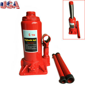 2ton 4ton 6ton Hydraulic Bottle Jack Hoist Lift Automotive Shop Equipment Car Us