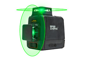 3d 2x360 Bright Green Laser 8 Lines Plane Line Auto leveling Rotary Cross