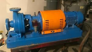 Goulds 3196 Stx 1x1 5 6 Stainless Steel 1 5hp Iframe Centrifugal Pump