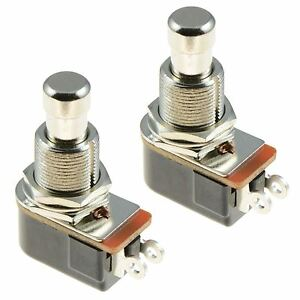 2 X Off on Momentary Push Button Foot Switch Spst