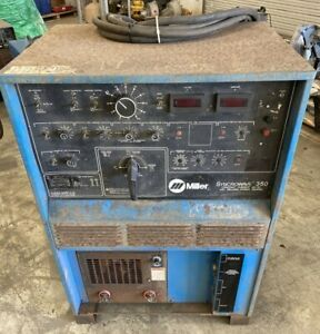 Miller Syncrowave 350 Constant Current Ac dc Arc Welding Power Source