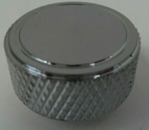 Chrome Knurled Round Air Cleaner Wing Nut 1 4 20 Thread Chevy Ford 350 454 383