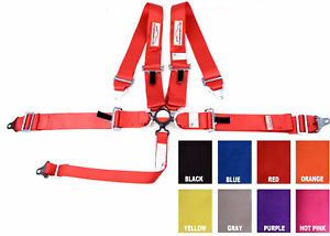 Any Color Racing Harness Sfi 16 1 Cam Lock Seat Belt 3 Universal 5 Point
