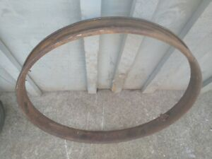 Antique Car Truck Model T Wood Spoke Wheel Outer Clincher Rim Wood Felloe 30x3
