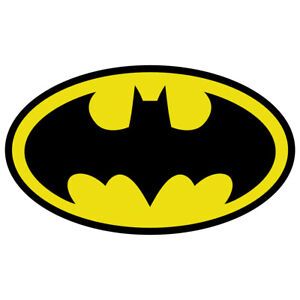 Batman Logo Sticker Car Truck Diecut Vinyl Decal Comic Dark Knight Colored