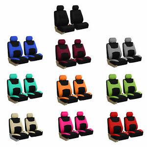 Car Seat Covers Full Set For Auto W steering Wheel belt Pad 4head Rest