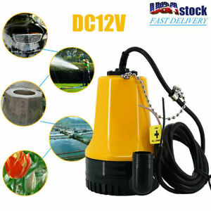Dc12v Immersible Submersible Agricultural Irrigation Bilge Electric Water Pump