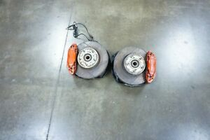 Jdm 02 06 Dc5 Brembo Front Brake Hubs Rotors Calipers Spindles Itr Acura Rsx